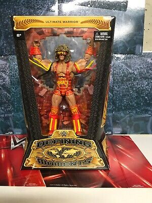 Ultimate Warrior Defining Moments Elite Action Figure Maniacs Mattel NEW WWE s59