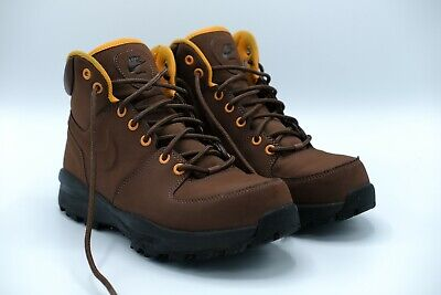 Nike Manoa Leather  Men's Fauna Brown Lifestyle Sneaker Boots 454350-203 Size 9