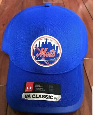 bd18ac05 Under Armour New York Mets MLB Hat Cap Stretch Fit Size L/XL MSRP $35.00