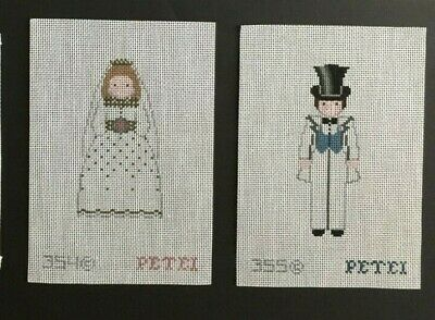 Petei Hand-painted Needlepoint Canvas People/Toy Soldiers/Select From 10 Designs