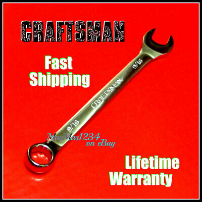 CRAFTSMAN Combination Wrench - Fully Polished - SAE Inch Metric 12 Pt  Any Size