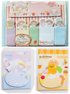 Glues, Epoxies & Cements Sanrio My Melody House Type Sticky Note Memo 667021n