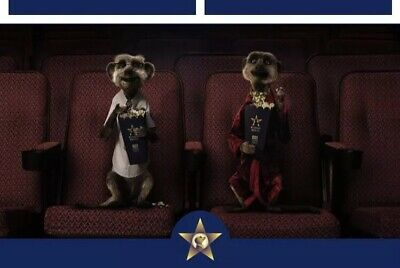 2 For 1 MEERKAT MOVIES CINEMA CODE VALID FOR Tue 21st Or Wed 22nd May Free