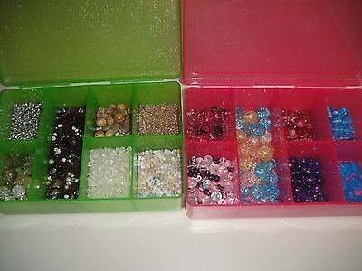 Jewlry Making Beads With Cases
