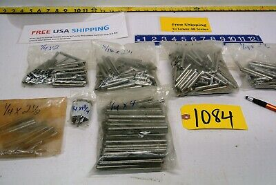 Hundreds of  Roll - Spring Pins Selection  7 sizes Retail Hardware Tool  Fre Sh