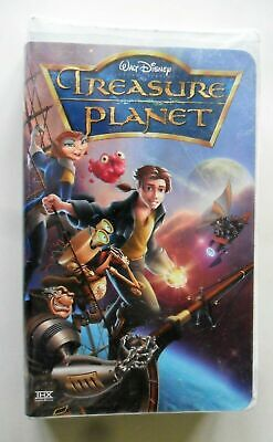 Treasure Planet Disney VHS Clamshell  Animated Story of Friendship & Courage