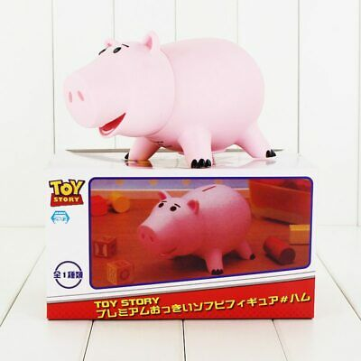 20cm Toy Story Hamm Piggy Bank Pink Pig Coin Box PVC figure Toys Gift Kids