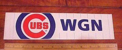 1981 CHICAGO CUBS Baseball Wgn Radio 720 Pocket Schedule