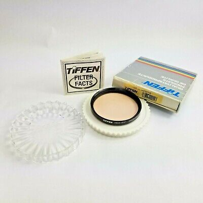 Tiffen 72mm 812 UV Protector Filter with Box Case