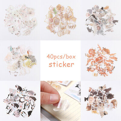 Stationary Scrapbooking Phone Decor Stickers Paper Sticker Diary Label