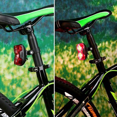 Bike Rear Light 2 LED 3 Modes Cycling Back Tail Lamp Light Bicycle Accessories