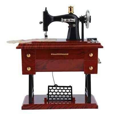 Sewing Machine Featherweight Music Box Vintage Singer Case Cabinet Accessories