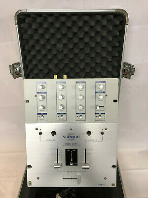 Stanton SK 6F Professional Battle Mixer Works in Odyssey Aluminum Travel Case EX