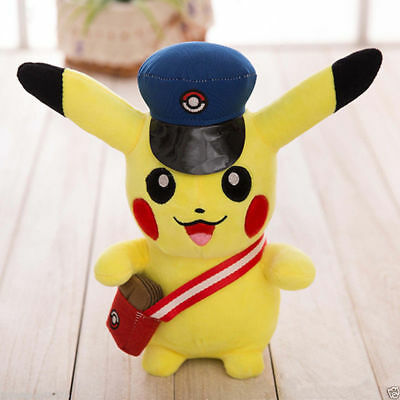Anime Pokemon Go Pikachu Cosplay Action Figures Soft Stuffed Plush Doll Kids Toy
