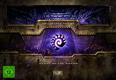 Starcraft  2 II  Heart of the Swarm Collector's Edition LEER EMPTY BOX Blizzard