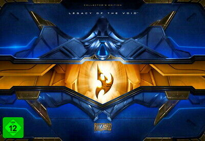 Starcraft II / 2 SC2 - Legacy of the Void - Collector's Edition LEER EMPTY BOX