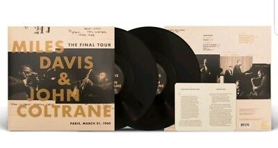 MILES DAVIS & JOHN COLTRANE - Final Tour Paris, March 21,1960  VMP  2LP Vinyl