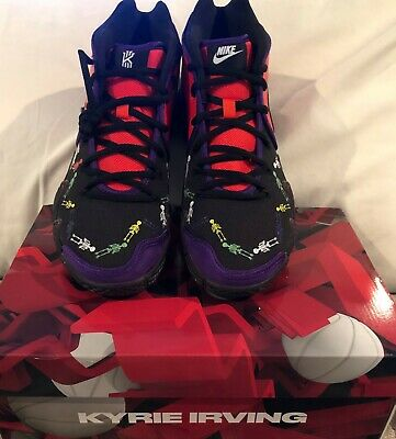 5fb5250c9ef0 NIKE KYRIE IRVING 4 IV Day Of The Dead DOTD TV PE 1 Sz 11 Preowned ...