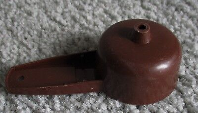 Tupperware Mini Funnel-Brown #877/Fills Salt & Pepper Shakers & Spice Bottles