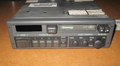 Vintage Ford Esrt32Ps Radio Cassette Player With Code Card