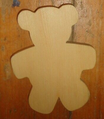 2 Wooden Shapes -  Bears