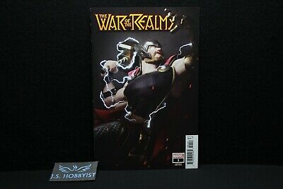 War of the Realms #1 1:25 Victor Hugo Thor Variant Cover NM