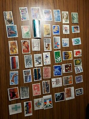 50 fine used Canadian stamps, 3 cents each, good deal and quality, free shipping