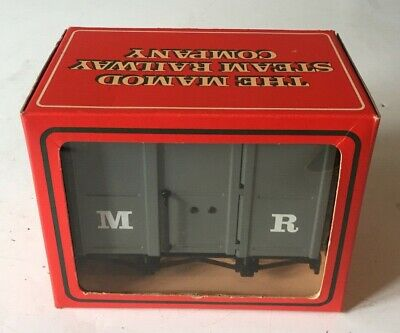Mamod Rw4 Goods Van Wagon ~ 'O' Gauge Live Steam Railway ~ V.good+++ Condition
