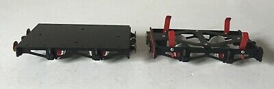 Mamod Rw6 Flat Bed + Bogie ~ 'O' Gauge Live Steam Railway ~ V.good+++ Condition