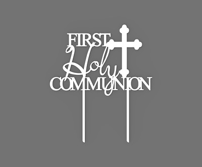 First Holy Communion Cake Topper 60050