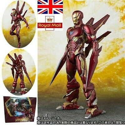 UK Deluxe S.H.Figuarts Iron Man MK-50 Marvel Avengers Infinity War Action Figure