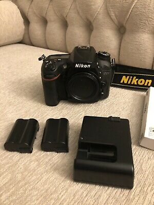 Nikon D7200 24.2 MP Digital SLR Camera AS NEW CONDITION- 22k Low Shutter Count