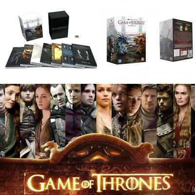 UK Game Of Thrones The Complete Season 1-7 Sealed DVD Boxset Limited Edition New