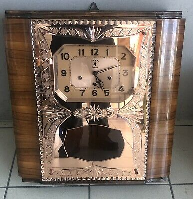 Ancien CARILLON Horloge Westminster no Odo / LCB 4 AIRS / 10 tiges Face Cristal