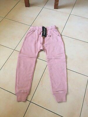 Rock Your Baby Pink Drop Crutch Pants  Sz 7  Bnwt Rrp $59.95