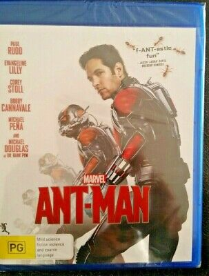 Ant Man 1 Paul Rudd {Marvel} Aust Region B Blu Ray New Sealed Ant-Man Antman