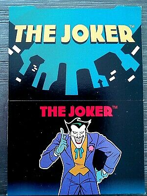"1995 Skybox Dc Comics Batman & Robin "" Pop Up "" Trading Card - The Joker"