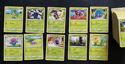 POKEMON TCG SET BURNING SHADOWS 1 To 128 SEMICOMPLETE Normal + Reverse + GX