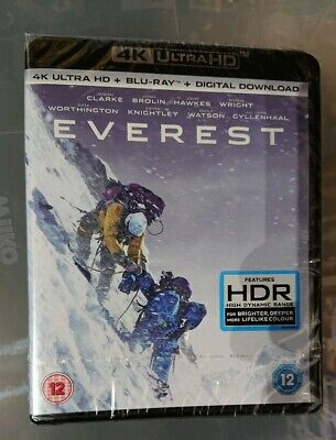 Everest - 4K Ultra HD + Blu Ray + Digital Copy - Region Free - New