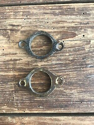 2 19c Brass Extending Table Handle Collets