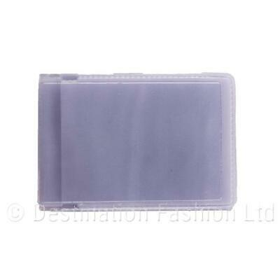 Landscape Wide Credit Card Travel ID Holder Plastic Refill Inserts For Wallets