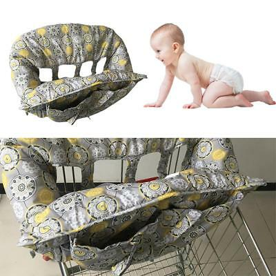 Portable Baby Shopping Cart Cushion Supermarket Cover Trolley Pad Comfortable