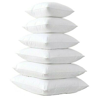 Bounce Back Premium Hollow-Fibre Cushion Pads/Inners/Cushion Inserts All Sizes