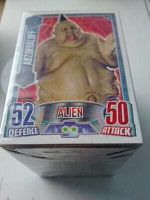 Doctor Who Alien Attax 240 CCG Trading Card Set & Binder Topps - 2013  - PANINI
