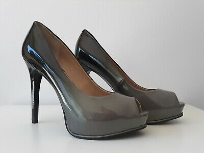 GUESS DAMEN PUMPS Peepteos Plateau Highheels HONORA