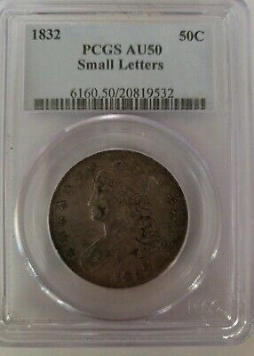 1832 Capped Bust Half Dollar Overton O-121 - PCGS AU50 - Small Letters