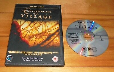 Joaquin Phoenix THE VILLAGE | 2004 M Night Shyamalan Horror Thriller | UK DVD