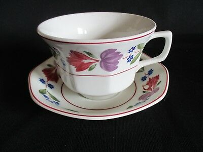 Adams Old Colonial large tea cup / Breakfast cup and saucer