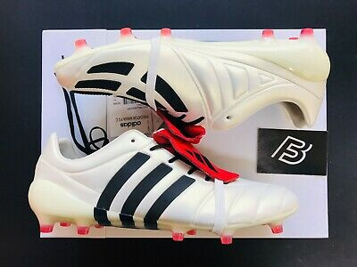 82b7ccac866 adidas Predator Mania FG Champagne - Off White Core Black Red UK Size 10