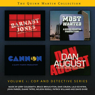 QUINN MARTIN COLLECTION VOL 1 2-CD La-La Land GOLDSMITH Score Soundtrack NEW